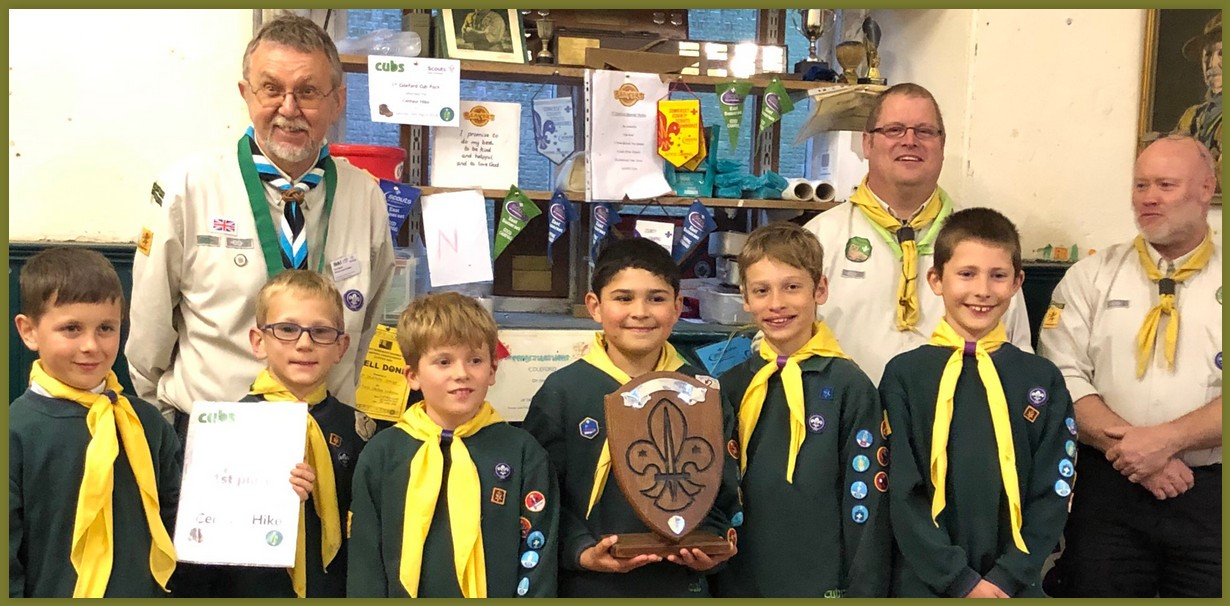 Congratulations to Coleford Cubs